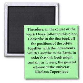 copernicus quote magnet