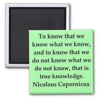 copernicus quote refrigerator magnets