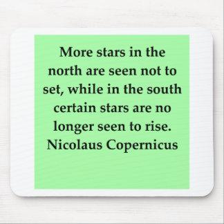 copernicus quote mouse pad