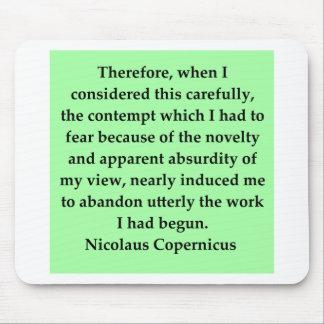 copernicus quote mousepad