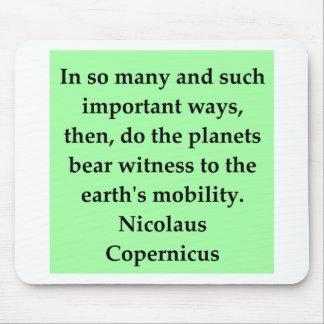 copernicus quote mousepads