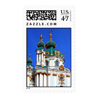 Copes of the St. Andrew's Cathedral in Kyiv, Ukrai Postage Stamp