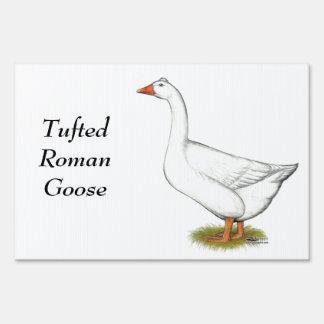 Copetudo romano del ganso carteles