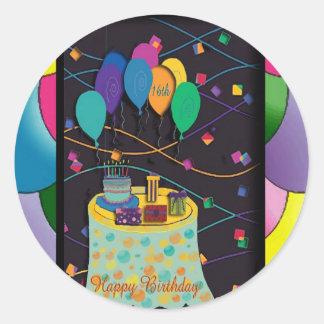 copia 16thsurprisepartyyinvitationballoons pegatinas