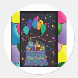 copia 20thsurprisepartyyinvitationballoons pegatinas