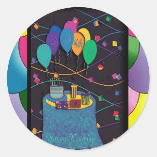 copia 40thsurprisepartyyinvitationballoons pegatinas