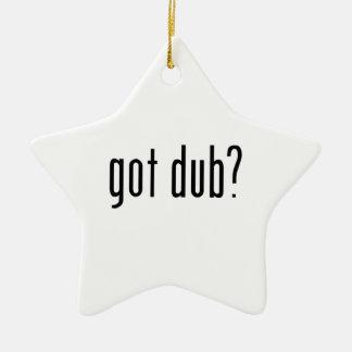 ¿copia conseguida? adorno navideño de cerámica en forma de estrella