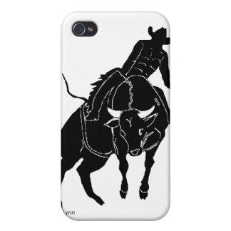 Copia de Bullrider 300 iPhone 4/4S Carcasas