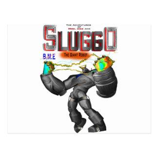 Copia de la camiseta de Sluggo Tarjeta Postal