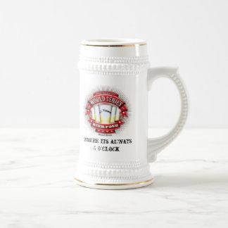 copia de la ciudad de la serie de mundo del punto jarra de cerveza