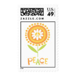 Copia de la flor de la paz sellos