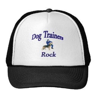 Copia de la roca de los adiestradores de perros gorros bordados