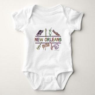 Copia de los Nuevo-Orleans-ICONOS Body Para Bebé