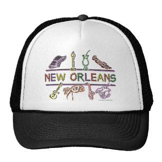 Copia de los Nuevo-Orleans-ICONOS Gorras