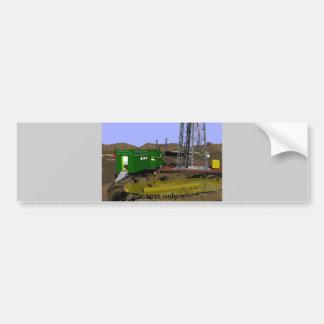 Copia de registración del tlr del fango 07 etiqueta de parachoque