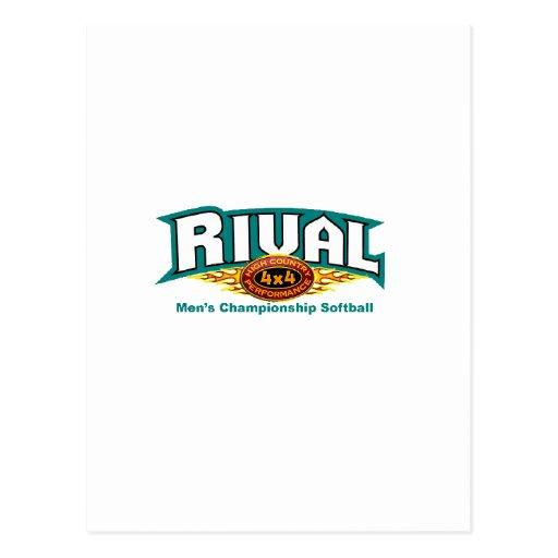Copia de RivalHCPLogoZazzlecopy Postal