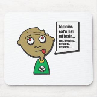 Copia de ZombieKid Tapetes De Ratones