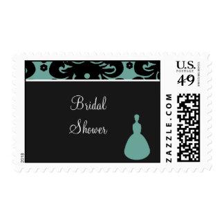 copia del aquablack blacksilhouette BridalShower