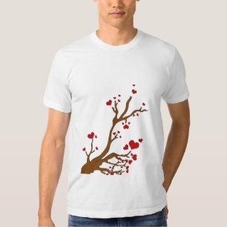 copia del árbol del corazón remeras