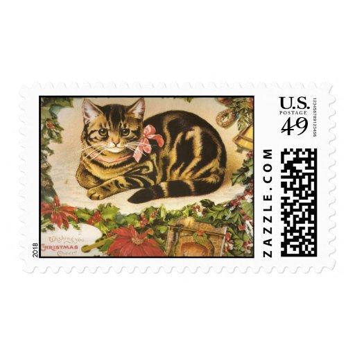 Copia del CAT 001 de Navidad del Victorian Timbre Postal