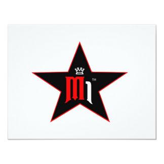 """copia del makem hate2 logo3 invitación 4.25"""" x 5.5"""""""