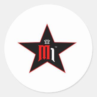 copia del makem hate2 logo3 pegatina redonda