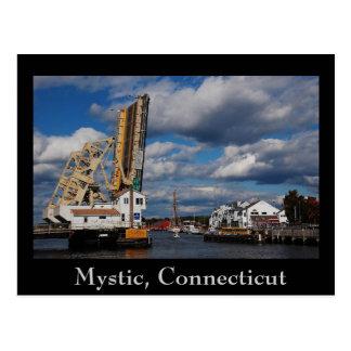 copia del místico 2009, místico, Connecticut Tarjetas Postales