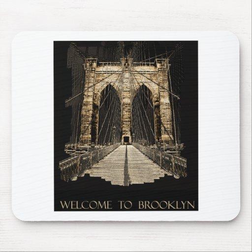 copia del puente de Brooklyn Alfombrillas De Raton