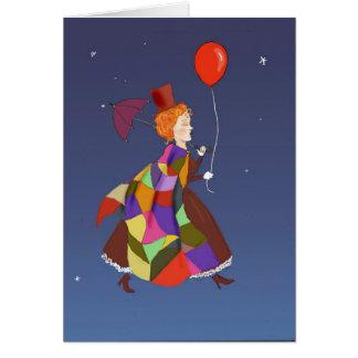 copia del skywalker de la señora tarjeta de felicitación