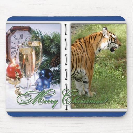 Copia del tigre Auroara-c-30 Alfombrillas De Raton