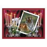 Copia del tigre Flavio-c-66 Invitaciones Personalizada