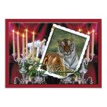 Copia del tigre Flavio-c-66 Invitación 12,7 X 17,8 Cm