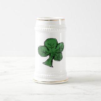 Copia del trébol jarra de cerveza