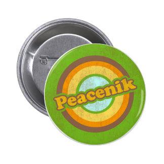 copia del zazzle_peacenik_button pin redondo de 2 pulgadas