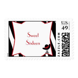 copia del zebrastripeone SweetSixteen stamps