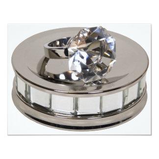 "Copia DiamondRingMirror110409 Invitación 4.25"" X 5.5"""