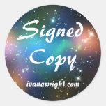 Copia firmada Fi de Sci con los pegatinas del URL
