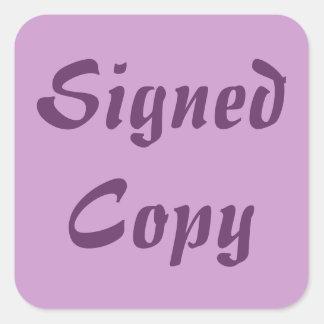 Copia firmada - pegatinas cuadrados (21) pegatina cuadrada