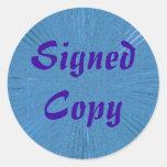 Copia firmada - pegatinas redondos (1)