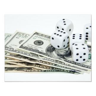 Copia Gambling030709-3 Invitación 10,8 X 13,9 Cm