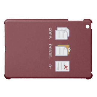 Copia, goma, A+ caso del iPad