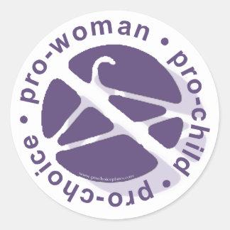 Copia PCPCircle2 Pegatina Redonda
