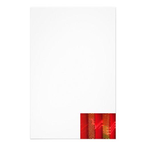 Copia saturada extracto amarillo rojo de las escal  papeleria