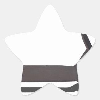 Copia ScooterWithPadlock080914 Pegatina En Forma De Estrella