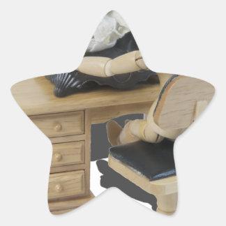Copia SewingUpClothing082414 Pegatina En Forma De Estrella