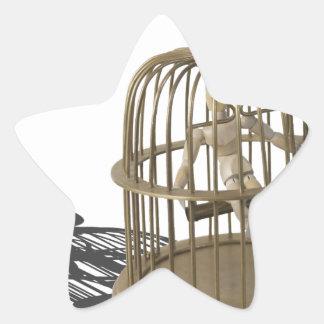 Copia SingLikeCanary080214 Pegatina En Forma De Estrella