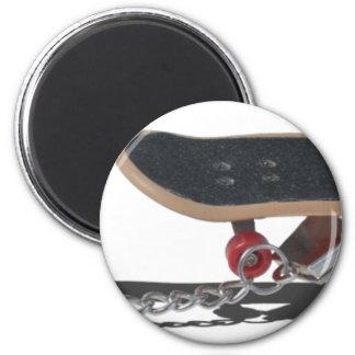 Copia SkateboardAndHandcuffs081914 Imán Redondo 5 Cm