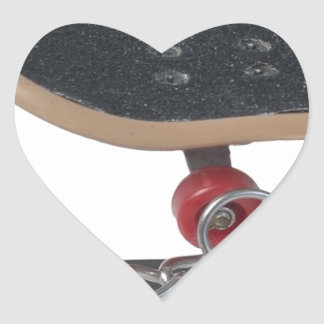 Copia SkateboardAndHandcuffs081914 Pegatina En Forma De Corazón