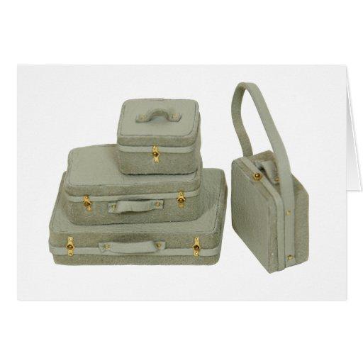 Copia Suitcases030609 Tarjeta De Felicitación