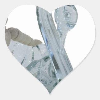 Copia SwanBoat082414 Pegatina En Forma De Corazón
